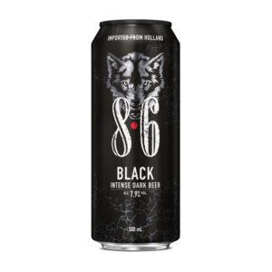 86 Black 50cl